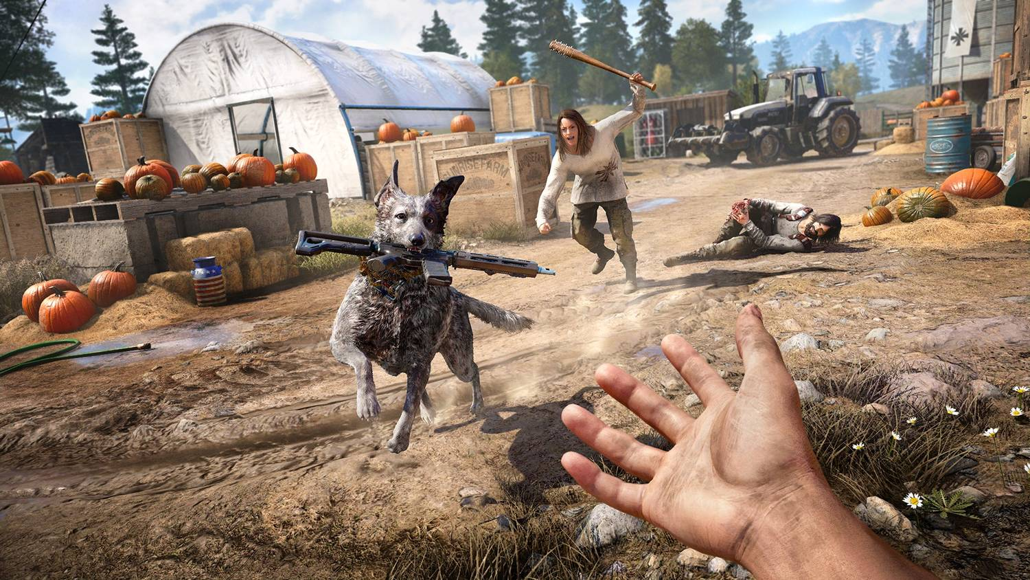 Far Cry 5: Gold Edition [v 1.4.0.0 + DLCs] (2018) PC | Repack от xatab
